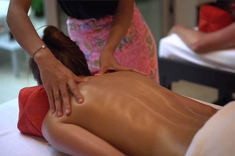 FREE Thai aromatherapy massage for all adults