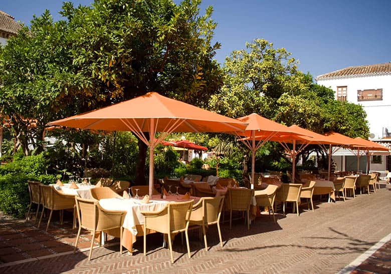 Iconic, Charming Plaza de los Naranjos - just 10-15 minutes from your villa