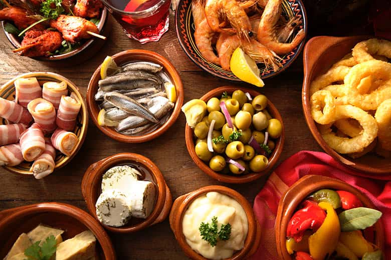 Tapas Galore! - just 5 minutes from your villa