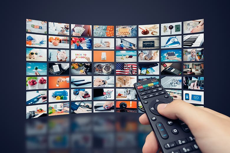 Over 300 International TV channels and 2,000 premium movies